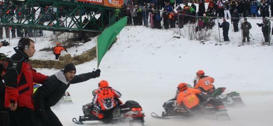 48th Annual International 500 Snowmobile Race