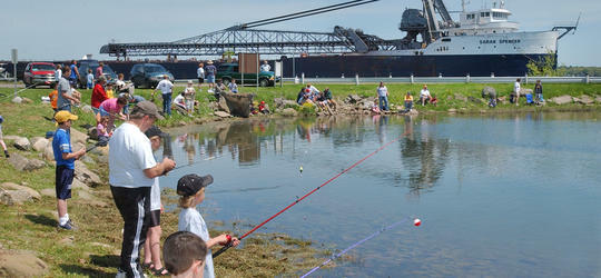 Connor Gorsuch Kid's Fishing Day