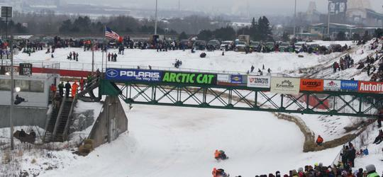 International 500 Snowmobile Race