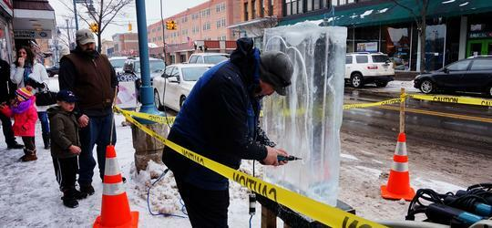 Downtown Winter Ice Festival