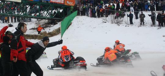 46th Annual International 500 Snowmobile Race