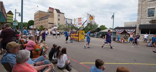 2018 Gus Macker 3-on-3 Basketball Tournament