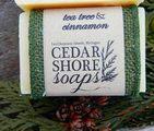 Handmade in Michigan, natural soap.