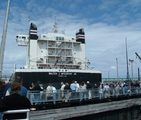 The last Friday in June the Soo Locks are open to the public