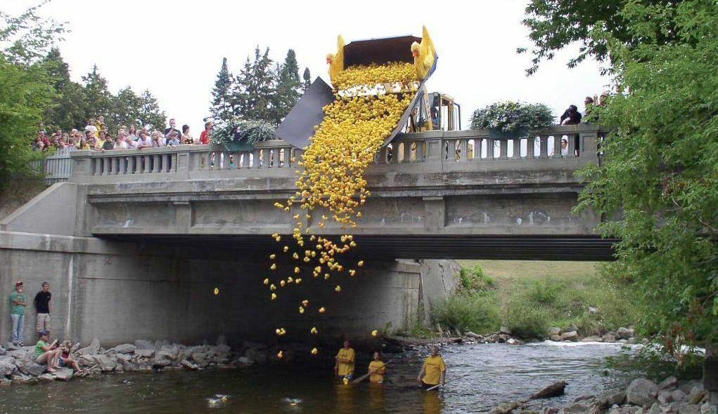 Rubber Ducky Festival - Race Day