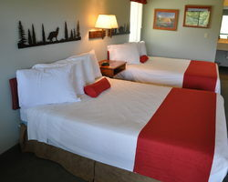 Legend Inn Double Queen Guest Room