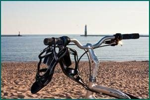 Bike to the beach (Photo by Drew Smith)