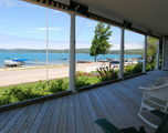 The Front Porch and View of Crystal Lake