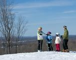Voted the number one ski resort in the Midwest, with 45 downhill runs and 40 kilometers of cross country trails, Crystal Mountain is your premier Midwest ski report, offering award winning ski schools, family programs, fine dining and more.
