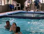 During your stay you may want to take advantage of our full size enclosed and heated pool and spa.