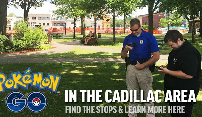 Pokemon Go in Cadillac