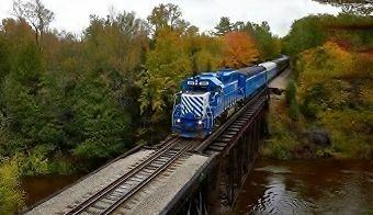 Spring Train Ride - Cadillac to Walton Junction