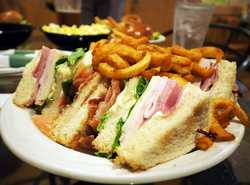 Come in and try one of our two-handed sandwiches