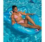 The Salon Lounge combines style and comfort like no other inflatable lounge on the market. A truly unique shape with a simple, attractive look and design, the Salon Lounge will definitely be the envy of your friends and neighbors. Not only does it look good, but the ergonomic design provides one of the most comfortable seats you will find for the water. The Salon Lounge is great for the pool, lake, river and ocean. Another thoughtful design from your friends at WOW.