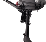 Delivers lightweight, portable power and thrust for exact operation. Perfect for aluminum tiller, inflatable soft hull, jon, utility, and sail boats.