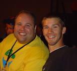 Seminarian Nick Cooper and Nate Zielinski at Catechesis.