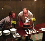 Andy Moe and Nick Cooper each celebrated a birthday during World Youth Day.