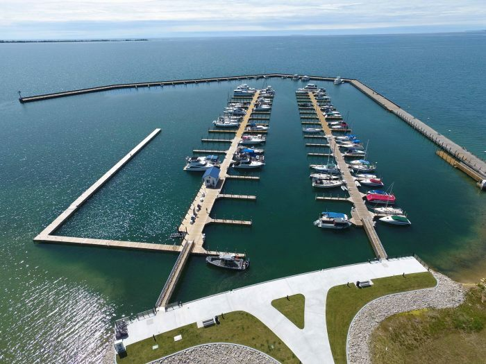 Recent Projects - East Tawas State Harbor - Flotation