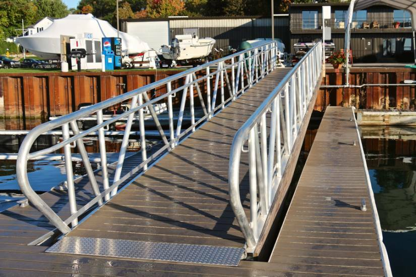 Floating Dock Systems Cedarville Mi Gangways Ramps