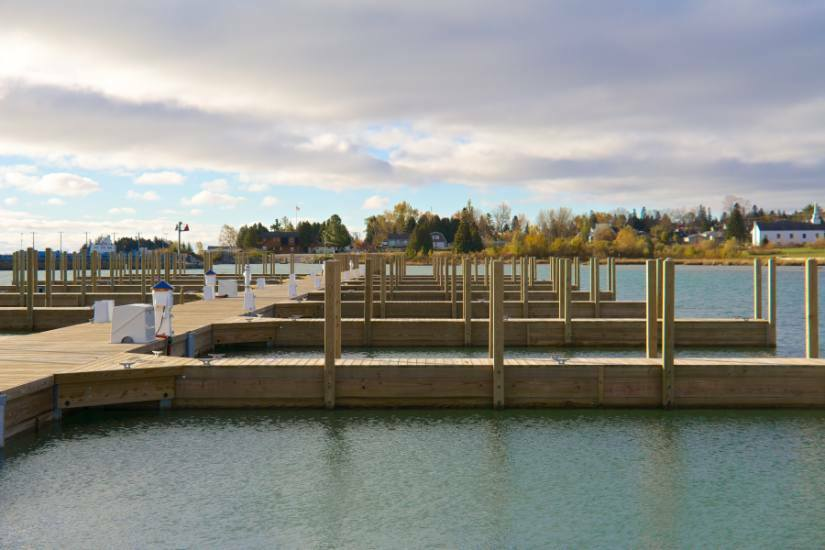 Floating Dock Systems Cedarville Mi Gangways Ramps