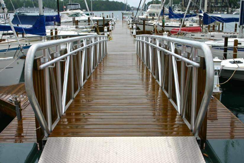 Gangways Amp Ramps Flotation Docking Systems