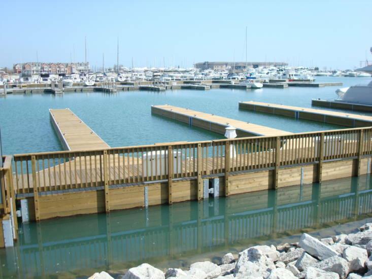 Floating Dock Photos Flotation Docking Systems