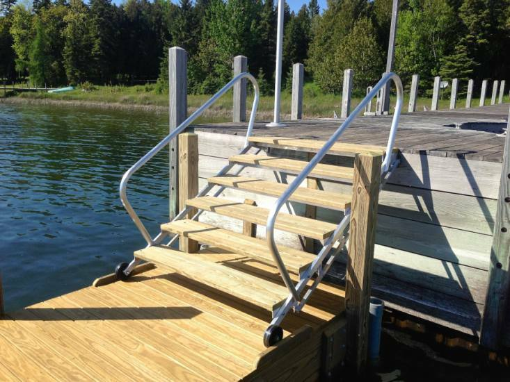 Floating Dock Systems Cedarville Mi Floating Dock Photos