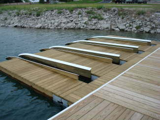 Custom Floating Structure Options - Flotation Docking Systems