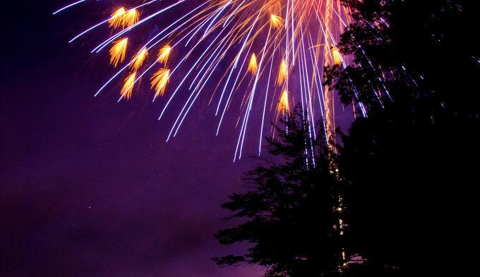 Fireworks Over Otsego Lake