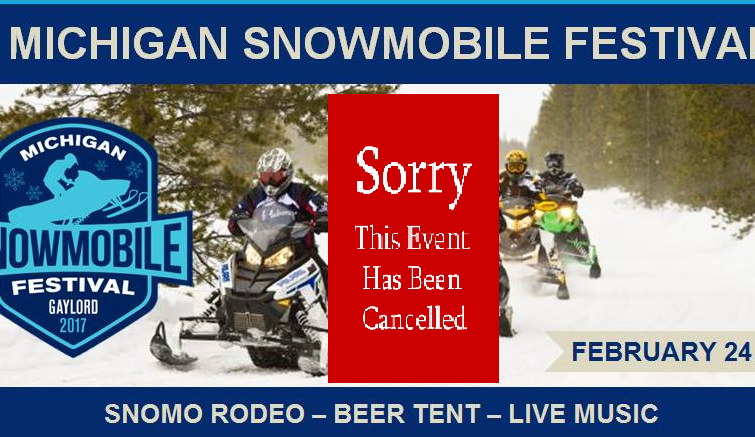 Michigan Snowmobile Festival-Cancelled