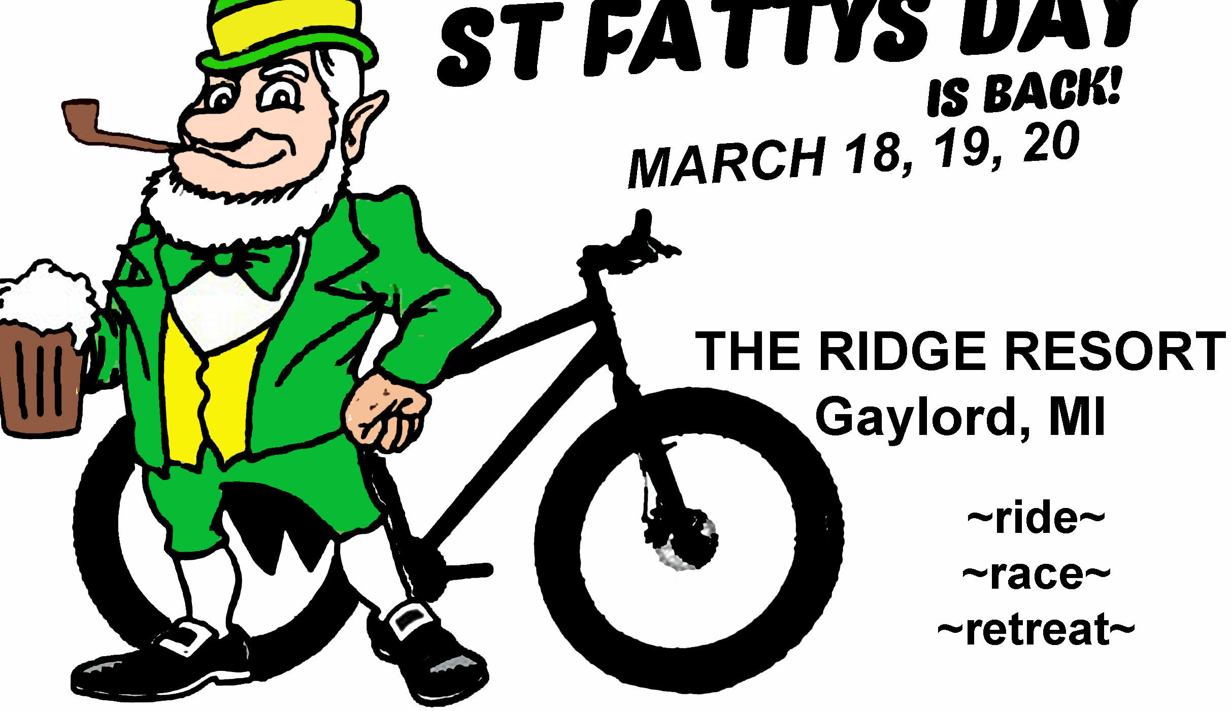 St Fatty's Day ~ Fatbike Event