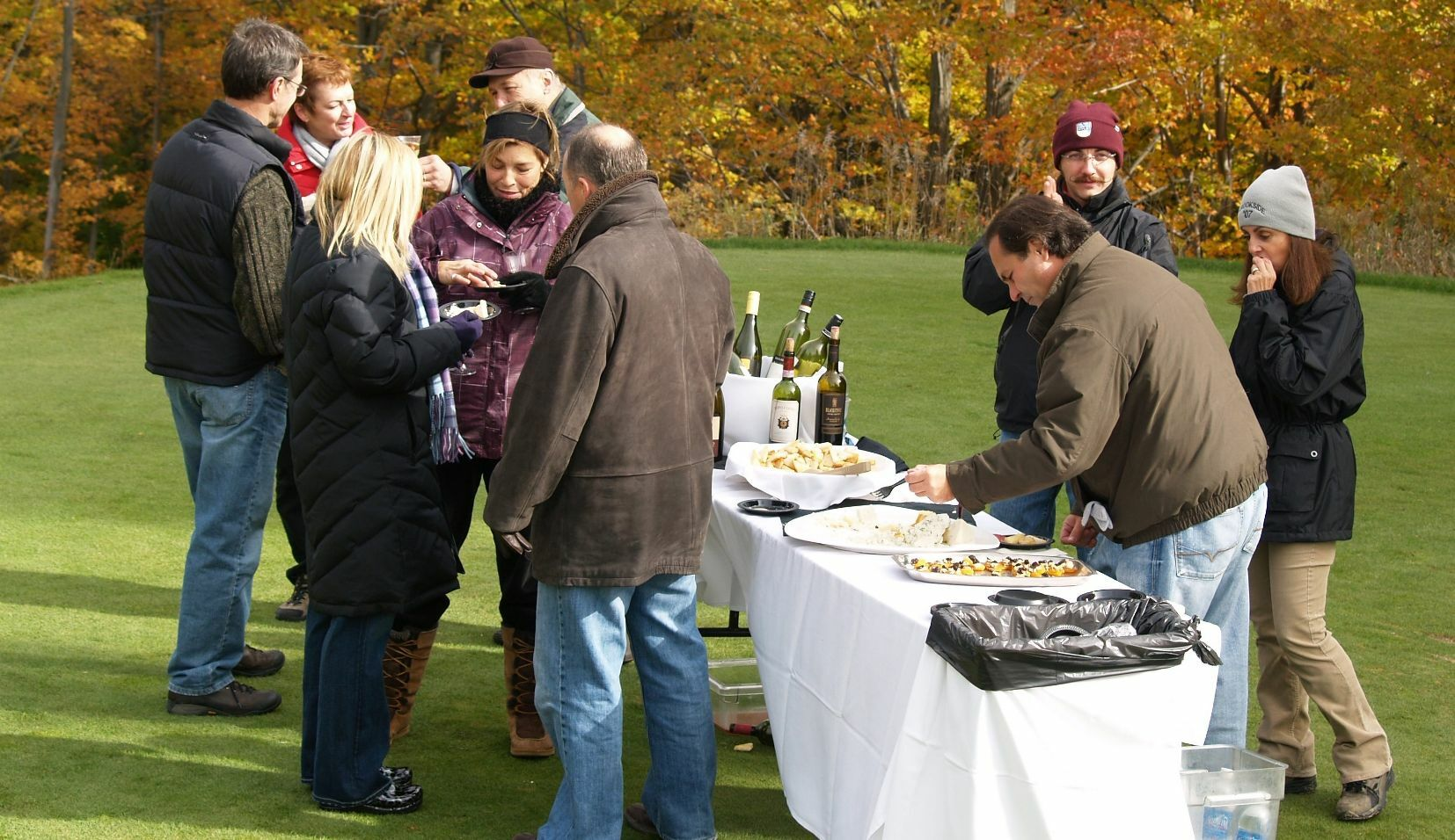 8th Annual  Wine and Cheese Color Tour