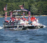 Always fun during the 4th of July parade on Otsego Lake