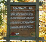 Fall is the perfect time to visit Deadman's Hill located west of Elmira to 131 left to Deadmans Hill Rd.