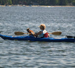 Kayaking on Otsego Lake