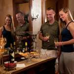Enjoy nightly wine and cheese reception