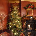 Holiday Magic in our Dining Room