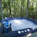 Private Outdoor Hot Tub For Dusty's Cabin