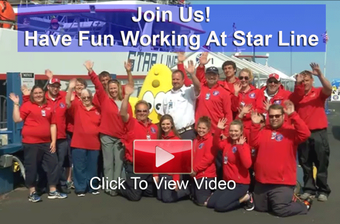 Join us and have fun working at Star Line!