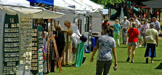 Mackinaw City Arts and Craft Show