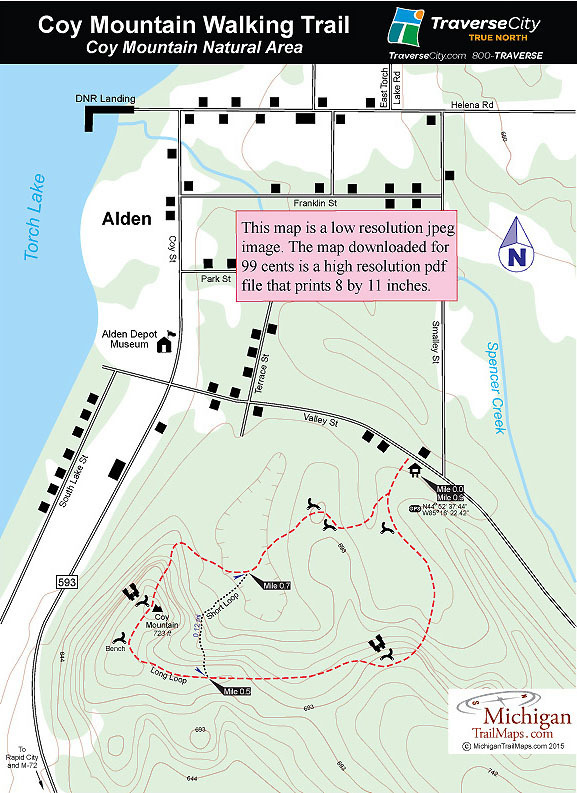 ATI Consulting - Northwestern Lower Michigan Trail Guide for hiking ... fe1c1667b