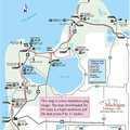 Sleeping Bear Heritage Trail map.
