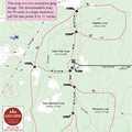 Pine Baron Pathway trail map.