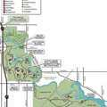 Oakwoods Metropark map