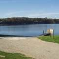 Boat ramp at Diamond Lake Campground.