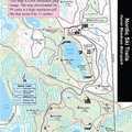 Huron Meadows Nordic Ski Trail map.