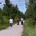 Trail users on the North Central State Trail.
