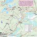 Muncie Lakes Pathway trail map.