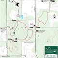 Goodhart Farms ski trail map.