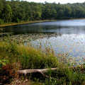 Lost Lake offers backpackers opportunities to fish.